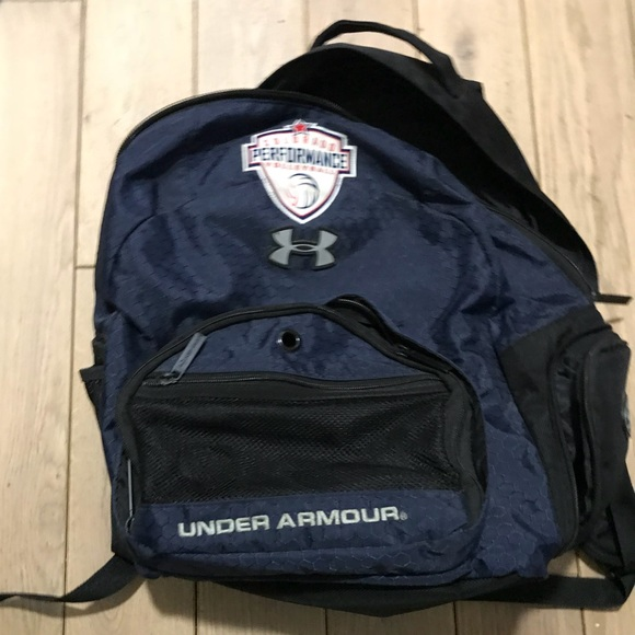 Under Armour Navy Travel Backpack. M 5ad9167084b5ce1afb38eaef f94c7e1750